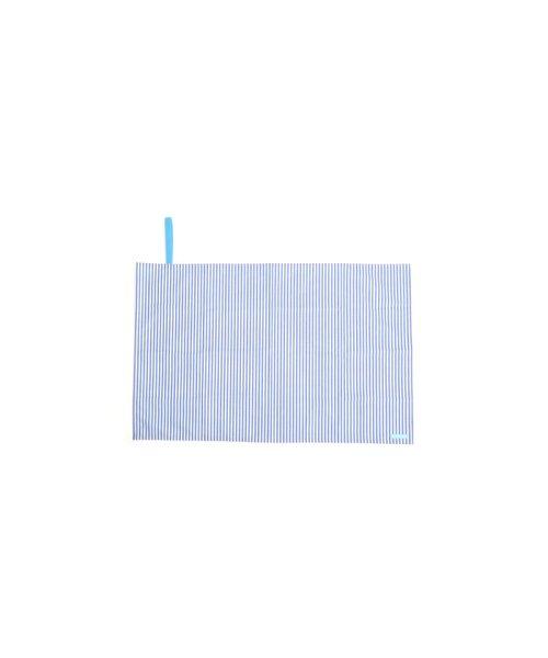 COLORFUL CANDY STYLE(カラフルキャンディスタイル)/レジャーシート ベーシックストライプ(綿100%)・青/N4807400