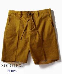 SHIPS MEN/SC: SOLOTEX(R) サフィラン リネン ハイブリッド イージー ショーツ/502039325