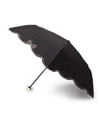 grove/Wpc.晴雨兼用リボンスカラップ折り畳み傘/502040263