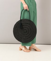 NOBLE/【MAISON N.H PARIS】 circle raffia バッグ/502040680