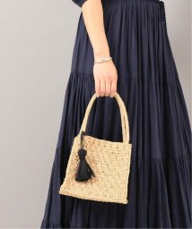 NOBLE/【MAISON N.H PARIS】 square raffia mini バッグ/502040681