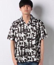 STYLEBLOCK/総柄ビッグシルエットオープンカラー半袖開襟シャツ/502016405