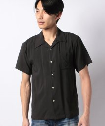 STYLEBLOCK/無地半袖オープンカラーシャツ/502016408