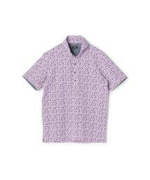 CROWDED CLOSET/《SWEAT DRAY》フラワープリントポロシャツ/502017512
