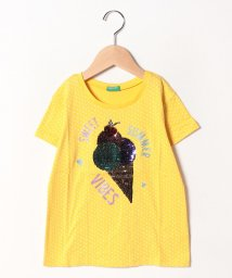 BENETTON (UNITED COLORS OF BENETTON GIRLS)/アップリケスイーツ半袖Tシャツ・カットソー1/502023356