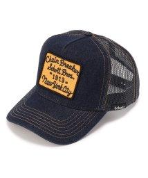 UNCUT BOUND/Schott(ショット)DENIM TRUCKER CAP CHAIN BREAKER/デニム トラッカー キャップ/502040825