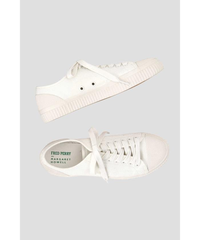 CANVAS RUBBER(FRED PERRY FOR MARGARET HOWELL)