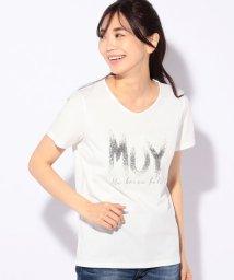 CARA O CRUZ/メッセージTシャツ/502022111