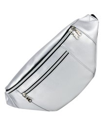 RUNNER/PU レザー 外ポケット ボディパック ウエストバッグ/501981782
