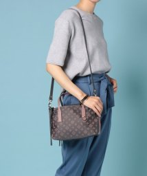 russet/W FACE TOTE BAG/502027443
