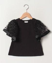 b-ROOM/変形袖Tシャツ/502029545