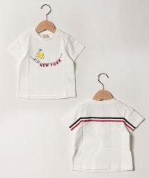 petit main/バックライン入りスケボークマTシャツ/502029562