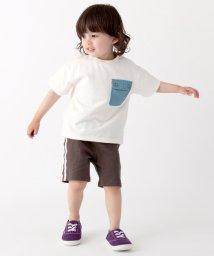 petit main/胸ポケットビックシルエットTシャツ/502029563