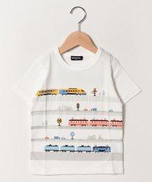 kladskap/電車プリントTシャツ/502032599