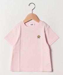 X-girl Stages/キラッキーワンポイントSSTシャツ/502032621