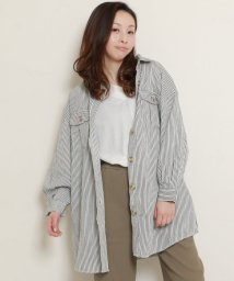 framesRayCassin/デニムBIGシャツジャケット/502033305