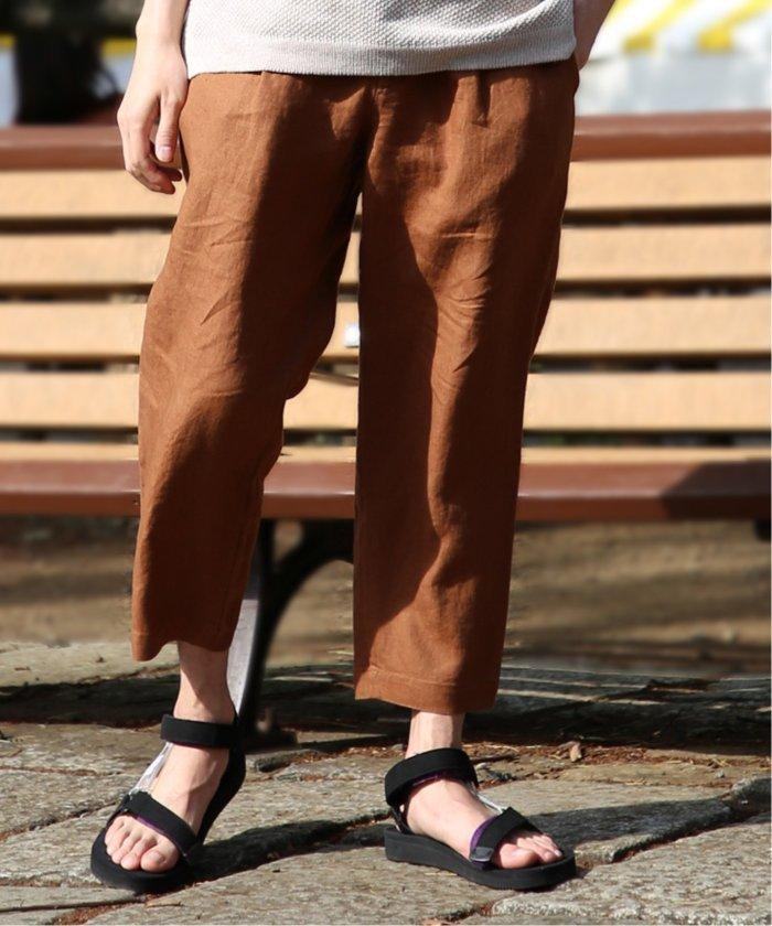 Linen CANVAS 1T DRAW パンツ