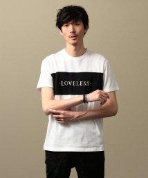 LOVELESS MENS/【LOVELESS】MEN スタッズロゴTシャツ/501891133