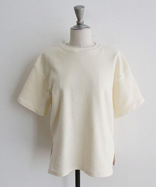 NANING9(ナンニング)/NANING9(ナンニング)コットン無地Tシャツ/ng-19t-010-z