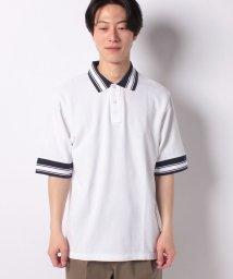 BENETTON (mens)/オーバーサイズラインポロシャツ/502018699