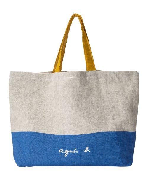 agnes b. Voyage(アニエスベー ボヤージュ)/MX01-01 Cote de France トートバッグ/N381VB15E19