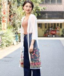 Bou Jeloud/◆大注目トレンドアイテム◆シースルーカラー裾刺繍カーディガン/502026568