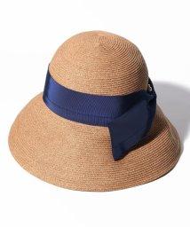 LANVIN en Bleu(accessories)/ピンブローチつきペーパーハット/502026666