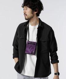 nano・universe/ビッグポケットシャツ/502030209