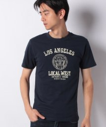 STYLEBLOCK/カレッジロゴプリントクルーネック半袖Tシャツ/502032888