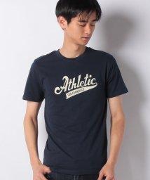 STYLEBLOCK/ロゴプリントクルーネック半袖Tシャツ/502032889