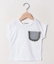 Gemeaux/フリンジポケットTシャツ/502033023