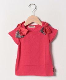 Gemeaux/肩リボンTシャツ/502033026