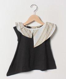 Gemeaux/フリル衿Tシャツ/502033027