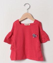 Gemeaux/レース袖Tシャツ/502033028