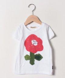 Gemeaux/花プリントTシャツ/502033029
