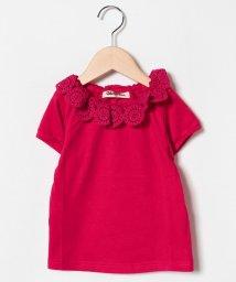 Gemeaux/レース衿Tシャツ/502033039