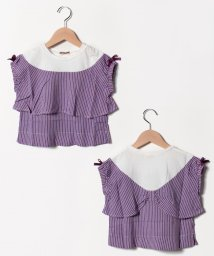 Gemeaux/ヨークリボンTシャツ/502033042