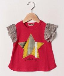 Gemeaux/星アップリケTシャツ/502033045
