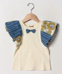 Gemeaux/切替袖Tシャツ/502033058