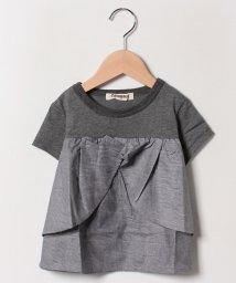 Gemeaux/【セットアップ対応商品】切替リボンTシャツ/502033067