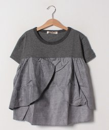 Gemeaux/【セットアップ対応商品】切替リボンTシャツ/502033068