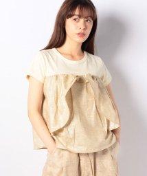 Gemeaux/【セットアップ対応商品】切替リボンTシャツ/502033069