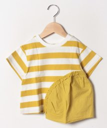 FORTYONE/ボーダー切替Tシャツ/502033098