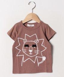 A-MACH/眉毛ライオンTシャツ/502033106