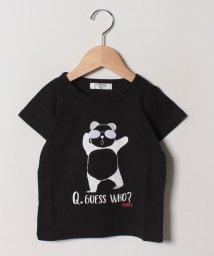 A-MACH/パンダ?Tシャツ/502033109