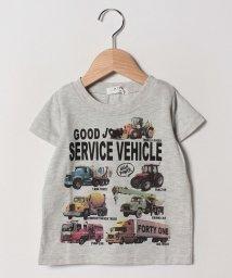 A-MACH/働く車半袖Tシャツ/502033113