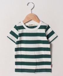 cucciolo/太ボーダーTシャツ/502033121