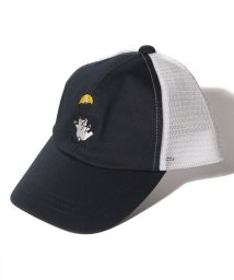 cucciolo/くま刺繍メッシュキャップ/502033127