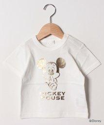 b-ROOM/DISNEY ミッキーマウス半袖Tシャツ/502034689