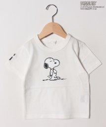 b-ROOM/PEANUTS スヌーピー半袖Tシャツ/502034690